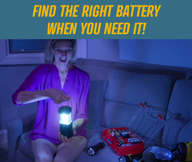 EASILY TEST YOUR BATTERIES!